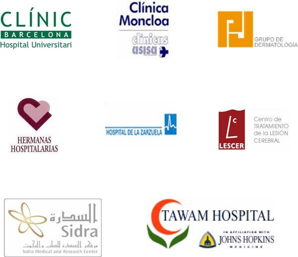Hospitales y centros sanitarios y sociosanitarios